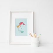 Mermaid & narwal frame