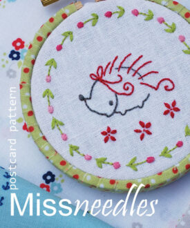 Miss needles postcard