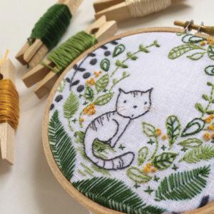 Hoop embroidery