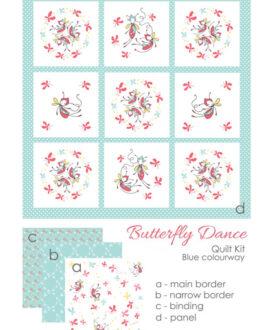 butterfly dance blue kit