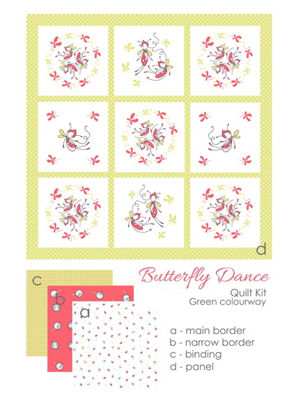 butterfly dance green kit
